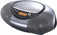 Sony CFD-RS60CP Portatile Digitale Nero radio