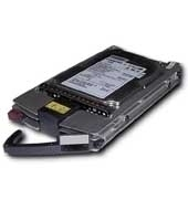 HP 18 GB 15K RPM, 512 sector, fibre channel disk drive disco rigido interno