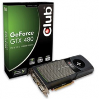 CLUB3D CGNX-X4836 GeForce GTX 480 1.5GB GDDR5 scheda video
