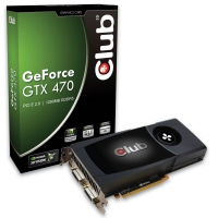CLUB3D CGNX-X4780 GeForce GTX 470 1.25GB GDDR5 scheda video