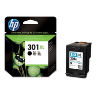 HP 301XL Black Ink Cartridge Nero cartuccia d