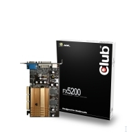 CLUB3D CGN-346R GeForce FX 5200 GDDR scheda video