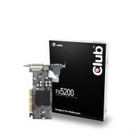 CLUB3D FX5200 GeForce FX 5200 GDDR
