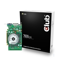CLUB3D CGN-GS766 GDDR2 scheda video