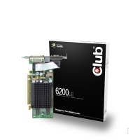 CLUB3D GeForce 6200LE GDDR