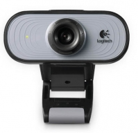 Logitech 960-000555 1.3MP 640 x 480Pixel USB 2.0 Grigio webcam