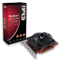 CLUB3D Radeon HD 5770 1GB GDDR5