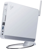 ASUS EeeBox EB1012P 1.66GHz D510 Desktop piccolo Bianco PC