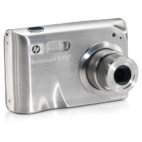 "HP Photosmart R967 10.5MP 1/1.8"" CCD Argento"