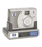 HP Photosmart 735 digital camera with Instant ShareT and Photosmart 8886 docking station