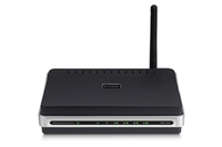D-Link Wireless 108Mbps Multi-Function Print Server, 4 USB 2.0 Ports LAN senza fili server di stampa