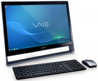 "Sony VAIO VPCL13M1E/S 2.93GHz 24"" 1920 x 1080Pixels Touch screen Argento All-in-One PC"
