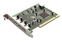 D-Link 5-Port USB 2.0 PCI Card scheda di interfaccia e adattatore