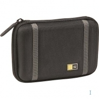 Case Logic Compact Portable Hard Drive Case Nero