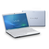"Sony VAIO VPCEE2M1E/WI 2.1GHz P320 15.5"" 1366 x 768Pixel Bianco notebook/portatile"