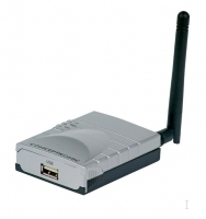 Conceptronic Wireless USB 54Mbps Printer Server LAN senza fili server di stampa