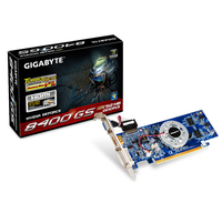 Gigabyte GV-N84STC-512I GeForce 8400 GS GDDR3 scheda video