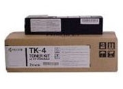 KYOCERA TK4 black toner for F-1000/ F-1010/ F-1200 3000pagine Nero
