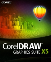 Corel Graphics Suite X5, 26-60u, 2Y