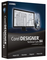 Corel Designer Technical Suite X4, MNT, 11-25u, 2Y, Multi