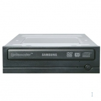 Samsung DVD Writer, Black + Nero Software Interno Nero lettore di disco ottico