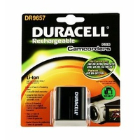 Duracell Camcorder Battery 7.4v 1540mAh Ioni di Litio 1540mAh 7.4V batteria ricaricabile