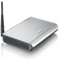 ZyXEL NBG334SH Fast Ethernet Nero, Grigio router wireless