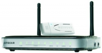 Netgear DGNB2100B Fast Ethernet Nero, Grigio router wireless