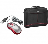 "Targus X-mas Bundle: 15.4"" Notebook Case + Wired Optical Mouse 15.4"" Valigetta ventiquattrore"