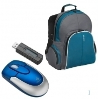 "Targus X-mas Bundle: 15.4"" Backpack + Wireless Mouse 15.4"" Zaino"