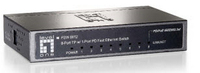 LevelOne FSW-0812 No gestito Supporto Power over Ethernet (PoE)