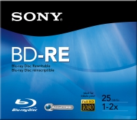 Sony BNE25RH 25GB BD-RE disco vergine Blu-Ray