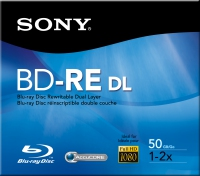 Sony BNE50RH 50GB BD-RE disco vergine Blu-Ray