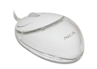NGS Vip Mouse USB Ottico 800DPI Bianco mouse
