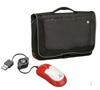 "Targus X-mas Bundle: 15.4"" Urban Messenger + Mini Retractable Mouse 15.4"" Borsa da corriere"
