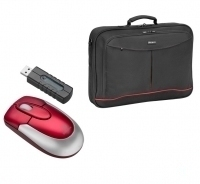 "Targus X-mas Bundle: 15 4"" Notebook Case + Wireless Mouse 15.4"" Valigetta ventiquattrore Nero"