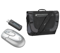 "Targus X-mas Bundle: 15.4"" Messenger Case + Wireless Mouse 15.4"" Borsa da corriere"