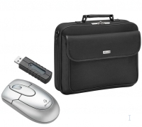 "Targus X-mas Bundle: 15.4"" Notebook Case + Wireless Optical Mouse 15.4"" Valigetta ventiquattrore Nero"