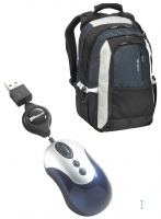 "Targus X-mas Bundle: 15.4"" Backpack + Mini Retractable Mouse 15.4"" Zaino"