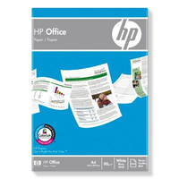HP Office Paper-500 sht/A4/210 x 297 mm, 5 pack A4 (210×297 mm) Opaco Bianco carta inkjet