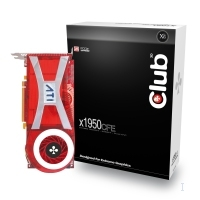 CLUB3D Radeon X1950 CrossFireT Edition GDDR4