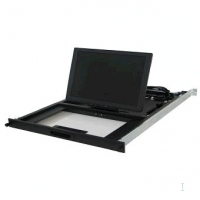 "Lenovo 1U 17"" Flat Panel console Kit w/ Optical Drive Bay 17"" 1280 x 1024Pixel console a rack"