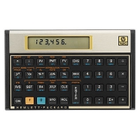 HP 12C Financial Programmable Calculator