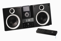 Logitech AudioStation high-performance stereo system for iPod 2.0canali 80W Nero docking station con altoparlanti