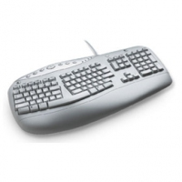 Logitech 967387-0102 PS/2 QWERTY tastiera