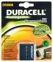 Duracell Camcorder Battery 7.4v 1440mAh Ioni di Litio 1440mAh 7.4V batteria ricaricabile