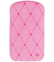 Cellularline Cleaning Sleeve IPhone 4G Rosa