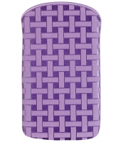 Cellularline Cleaning Sleeve IPhone 4G Viola