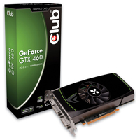 CLUB3D CGNX-X46068 GeForce GTX 460 GDDR5 scheda video