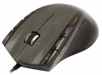 NGS Gamer Pro USB Laser 3200DPI Mano destra Nero mouse